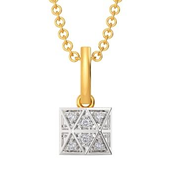 Tartan Theory Diamond Pendants