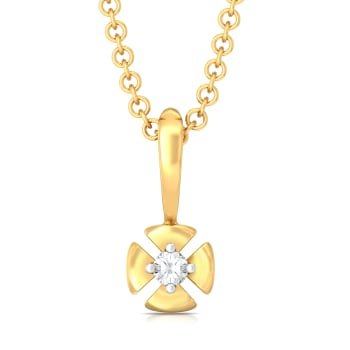 Petal Perfecto  Diamond Pendants