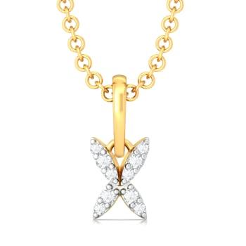 Peace Out Diamond Pendants