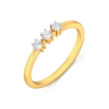 Three Glee Diamond Rings