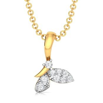 Flutter Fly Diamond Pendants
