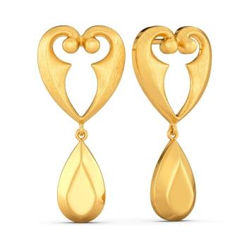 Childhood Cheer Gold Earrings
