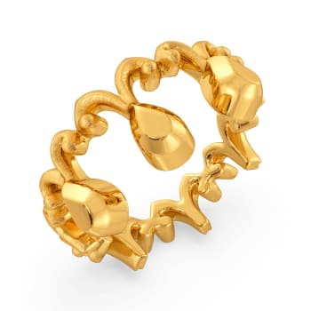Mystery Dolls Gold Rings