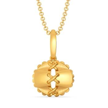 Free Frills Gold Pendants