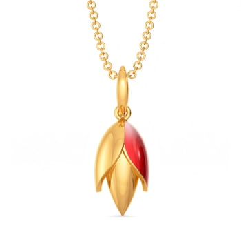 Lobster Claws Gold Pendants