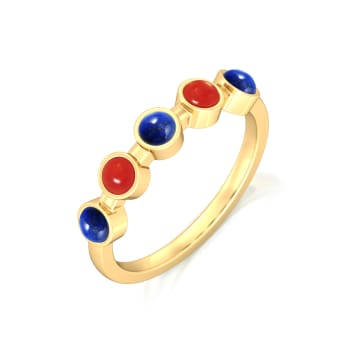 Nautical Colours Gemstone Rings