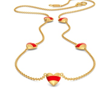 The Golden Glow Gold Necklaces