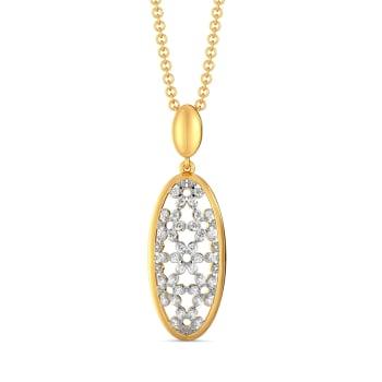 Ace of Lace Diamond Pendants