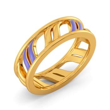 Powder Pastels Gold Rings