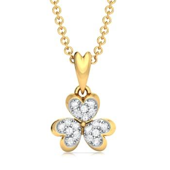 Bloom Zoom Diamond Pendants