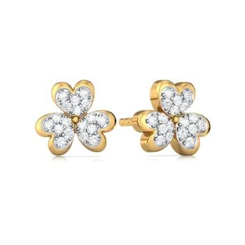 Bloom Zoom Diamond Earrings