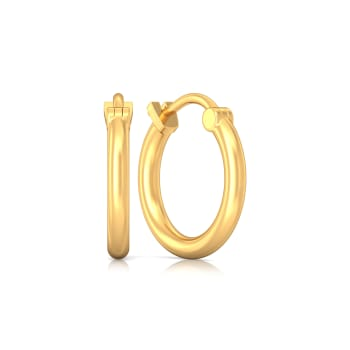 Vanilla Victories Gold Earrings