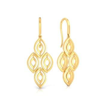 Prissy Arch etype Gold Earrings
