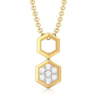 Orb Reverb Diamond Pendants