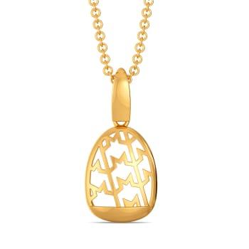 Tweed Season Gold Pendants