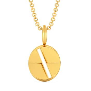 Cool Campus Gold Pendants