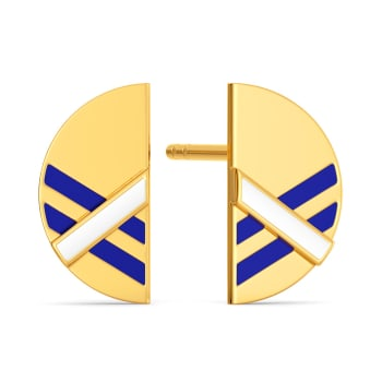 Cool Campus Gold Earrings