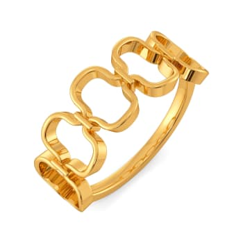 Cosy Knits Gold Rings