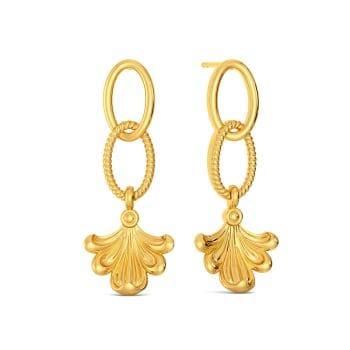 Bare Flair Gold Earrings