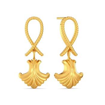 Romanesque Gold Earrings