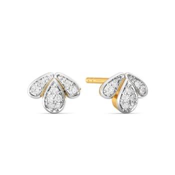 Tiara Tiers Diamond Earrings