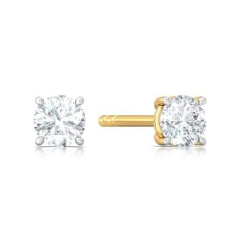 Rock n Roses Diamond Earrings