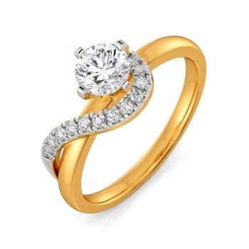 Jager Whirls Diamond Rings