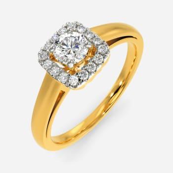 Boxy Bort Diamond Rings