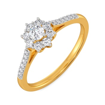 Floral Forevers Diamond Rings