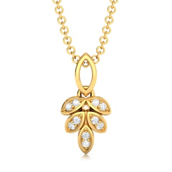 Bunched up Bright Diamond Pendants