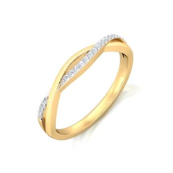 Entwined Spirit Diamond Rings