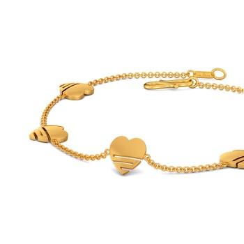 Heart O Mega Gold Bracelets