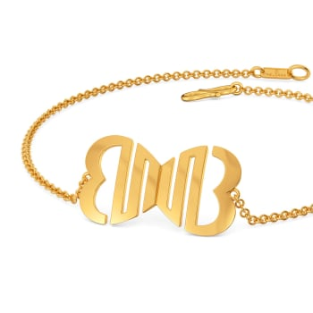 Love O Drama Gold Bracelets