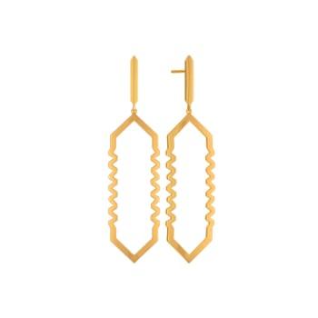 OTT Fantasy Gold Earrings
