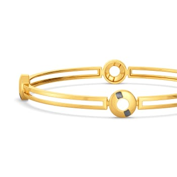 Raven Rebels Gold Bangles