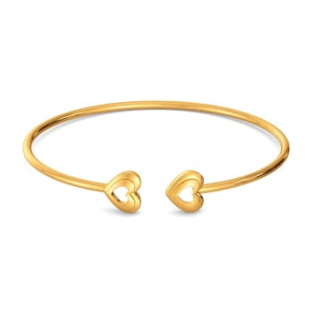 Mon Amour Gold Bangles