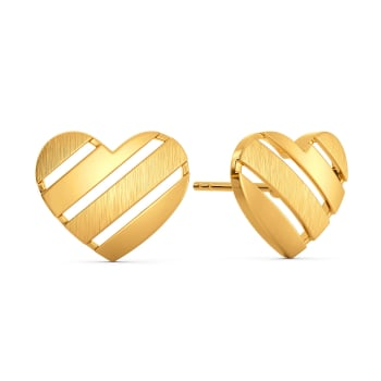 Amour Minimal Gold Earrings