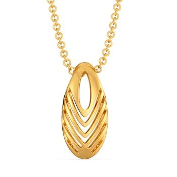 Debonair Dash Gold Pendants