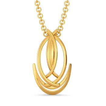 Dapper Dressed Gold Pendants
