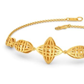 Sassy Chic Gold Bracelets