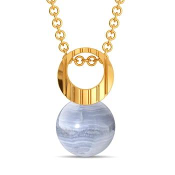 Bold N Bleached Gemstone Pendants