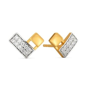 Little Leisure Diamond Earrings