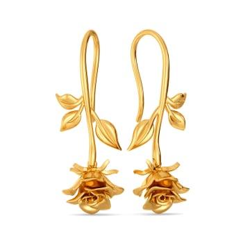 Forbidden Love Gold Earrings