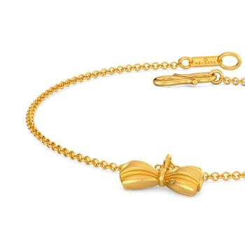 Bold Folds Gold Bracelets