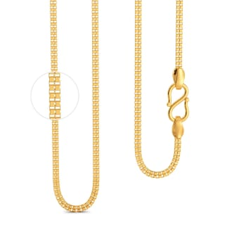 22kt Shiv Chain  Gold Chains
