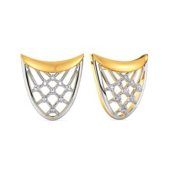 Crafty Crochet Diamond Earrings