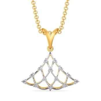 Cool Crochet Diamond Pendants