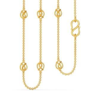 Bind A Bow Gold Chains