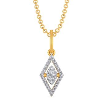 Rhomb Reasons Diamond Pendants