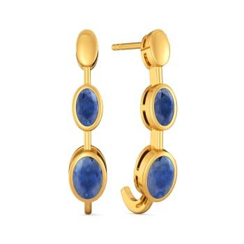 Blue Previews Gemstone Earrings